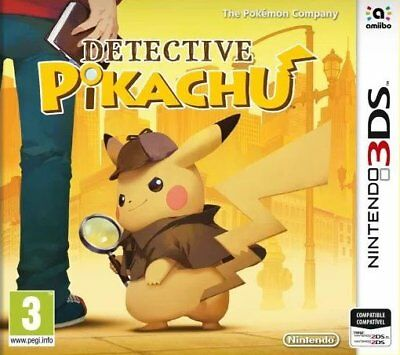 Detective Pikachu (3DS)  BRAND NEW AND SEALED - IN STOCK - QUICK DISPATCH