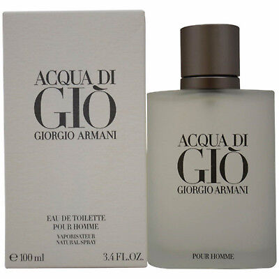 Acqua Di Gio By Giorgio Armani 3.4 oz Men's Eau De Toilette ~Brand New & Sealed~