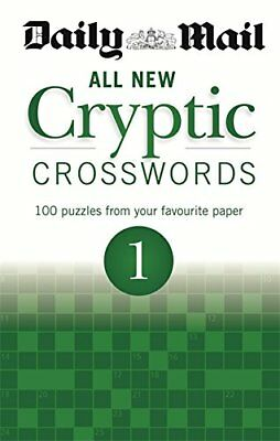 Daily Mail: All New Cryptic Crosswords 1 (The Daily Mail Puzzle... by Daily Mail