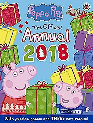 Peppa Pig: Official Annual 2018, Peppa Pig, Used; Good Book