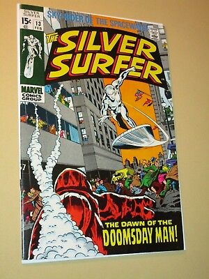 THE Silver Surfer #13 1st Doomsday Man LEE/BUSCEMA SILVER Marvel High Grade