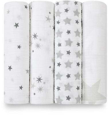 Aden + Anais CLASSIC SWADDLE - 4 PACK - TWINKLE Baby BN