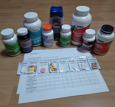 MDMA Supplements-Kit for harm reduction