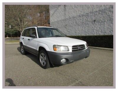 2004 Forester X 2004 Subaru Forester X Aspen White just 77k Miles Super Clean