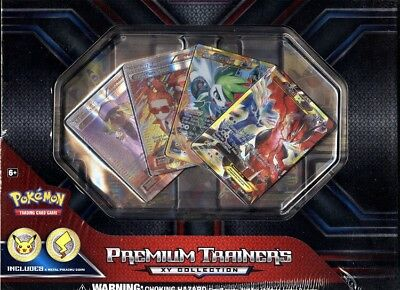 Pokemon Premium Trainer's Xy Collection Box Blowout Cards