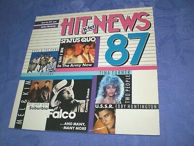 Summer Hit News 87 (Lp)[Swiss Compilation K-Tel *pet Shop Boys Modern Talking..]