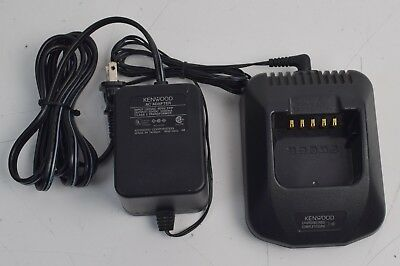 Kenwood OEM KSC-25 Two Way Rapid Radio Charger with AC Power Supply