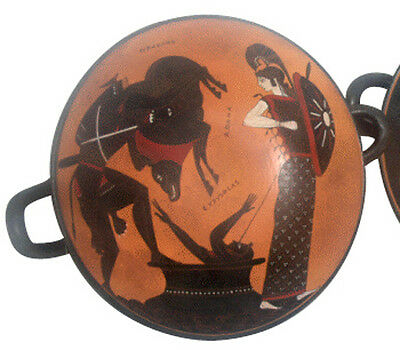Kylix Vase Ancient Greek Museum Replica Reproduction