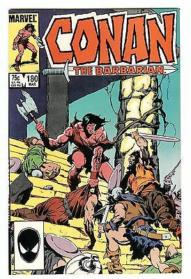 Conan the Barbarian #180 (Mar 1986, Marvel)