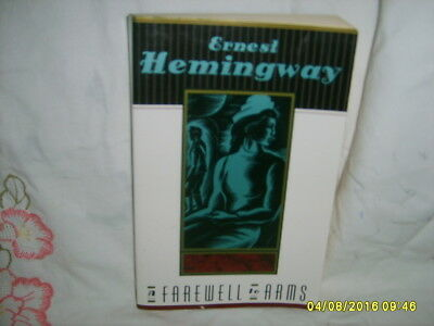 A Farewell to Arms by Ernest Hemingway book America World War I love hunger pain