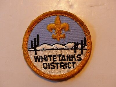 Vintage White Tanks District Theodore Roosevelt Council Arizona Boy Scout Patch