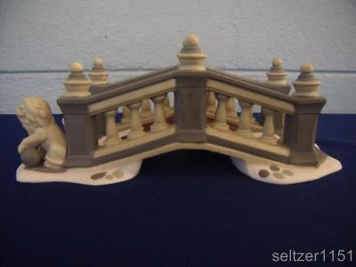 Dept 56 ~ Dickens Village ~ Lionhead Bridge ~ # 58645 ~ in Exc Used Condition