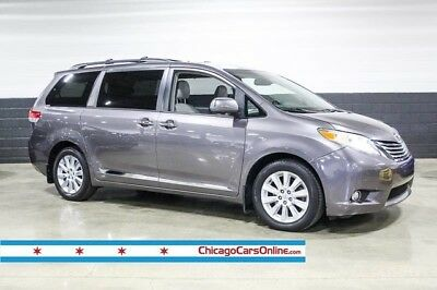 2011 Toyota Sienna  Toyota Sienna XLE AWD Nav Captain Chairs Heated Leather Adaptive Lights Rear TV