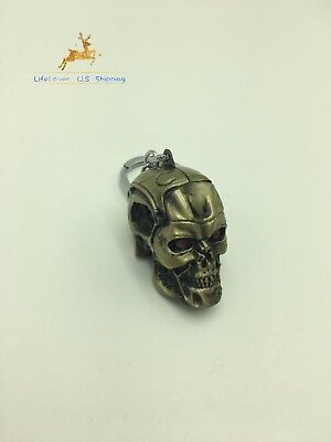 Terminator Salvation Endo Skull Head Action Figure Key Ring key chain