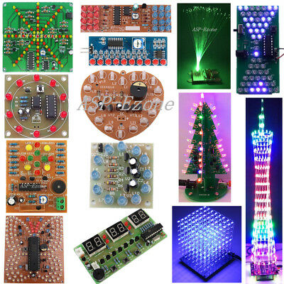 Dream Light Tower Butterfly Electronic Clock Flowing Lights LED Module DIY lot