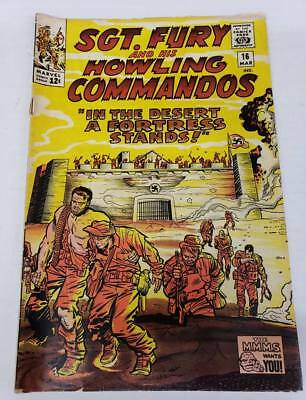 Sgt Fury and His Howling Commandos #16  Marvel 1965  VG-