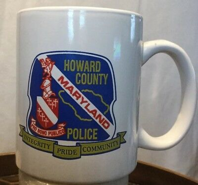Howard County Maryland Police Coffee Mug
