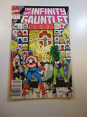 Infinity Gauntlet #2 VF- condition Huge auction going on now!