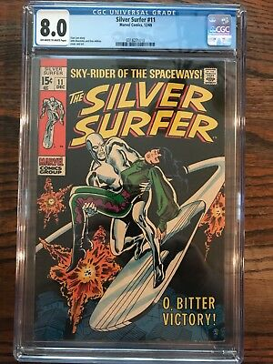 The Silver Surfer #11 (Dec 1969, Marvel) CGC 8.0