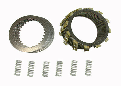 Complete Clutch Kit w/ Discs, Plates & Springs Honda CR250R & CR500R SEE YEARS