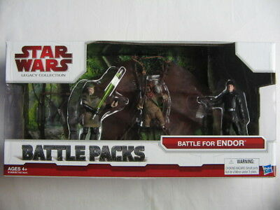Star Wars TLC - Battle Pack *** Battle of Endor *** Rare *** Selten ***