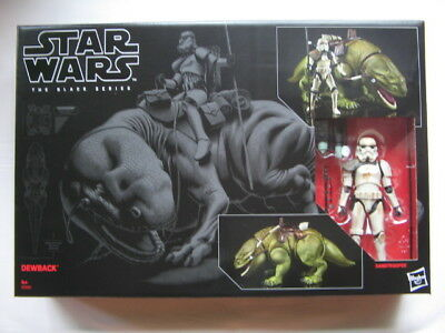 "Star Wars 6"" Black Series *** Dewback & Sandtrooper ***"