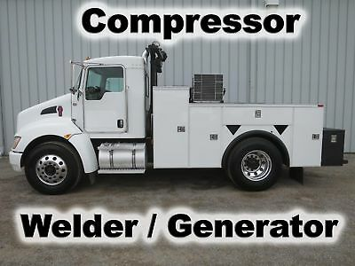 T370 Cummins 11Ft Utility Service Compressor Welder Generator Mechanics Truck