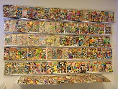 Lot of 145+ Silver/Bronze comics w/ Hulk, Ghost Rider, Spider-Man & more!