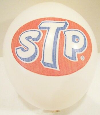 STP LOGO VINTAGE ADVERTISING BALLOONS~LOT OF 10 UNUSED CIRCA 1960's~MOTOR OIL