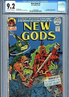 New Gods #7 CGC 9.2 1st Steppenwolf Origin Mister Miracle & Orion DC Comics 1972