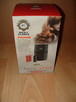 NEW Nicky Clarke Classic Compact Heat Hair Rollers -068