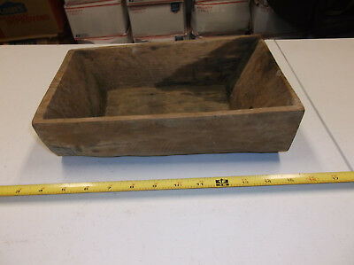 Vintage Collectible Hand Carved Small Wooden Dough Bowl?