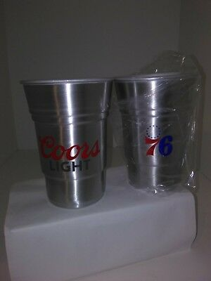 Coors light aluminum cup