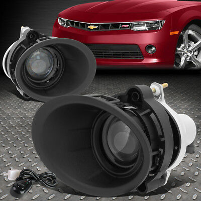 For 2014-2015 Chevy Camaro Ls/lt 3.6L Projector Fog Light W/bezel Cover+Seitch