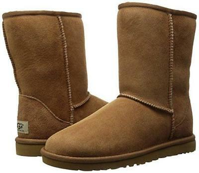 UGG Women's Classic Short Boot - Chestnut Brown - Size 8