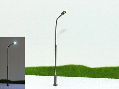 S1047 - 10 Pcs Whip Light with Led White 1-flammig Height Variable 5 - 7cm