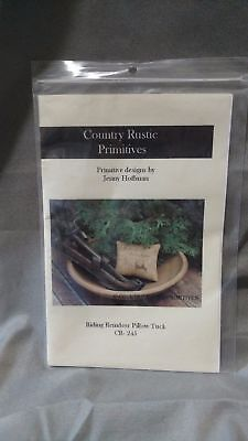 Country Rustic Primitives CR-245 Riding Reindeer Pillow Tuck pattern