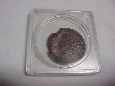 1837 original Large Penny, not one cent for etc.