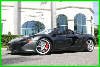 2015 McLaren 650S  2015 Used Turbo 3.8L V8 32V Manual RWD Convertible Premium