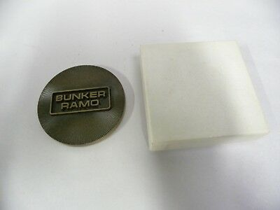 Vintage Bunker Ramo Advertising Promotional Desk Paperweight (A5)