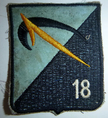 Patch - UNDISIPLINED COWBOYS - ARVN LAST STAND - 18th INFANTRY - Vietnam War - L