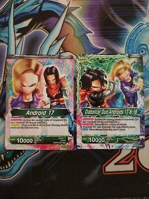 Dragon Ball Super Card Game Android 17/18 Full Deck