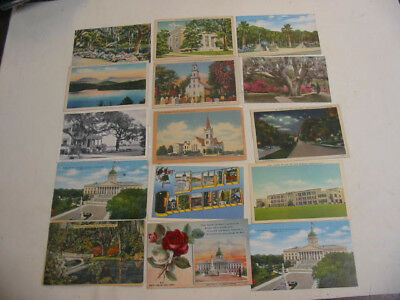 50 Older South Carolina Postcards