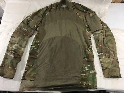 OCP Massif LARGE Multicam Army Combat Shirt ACS Flame Resistant, NICE!