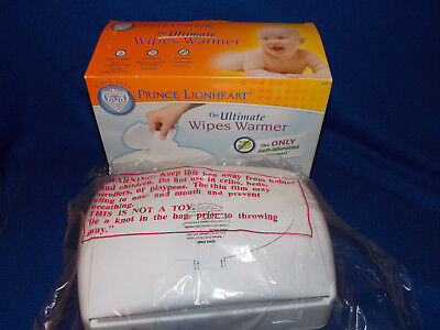 New In Box NIB Prince Lionheart Ultimate Anti-microbial Wipes Warmer Baby