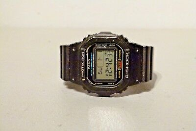 ... 37732 028e1 Mens Casio Dw 5600E Muiltifunction G Shock Watch 1545  Module new images of ... 39d22b693