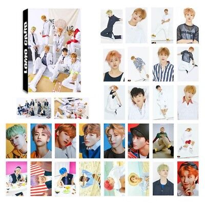 30pcs /set KPOP NCT DREAM We Go Up Album Self Made Paper Lomo Cards Fans Gift