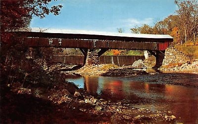 C12-0069, Taftsville Covered Bridge, Ottauquechee River, Vt.,