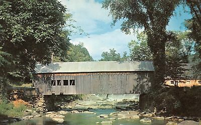 C12-0072, Covered Bridge, Tunbridge, Vt.,
