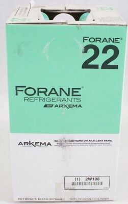 NEW Arkema Forane 22 Freon Refrigerants (30 pounds) - Virgin Factory Sealed